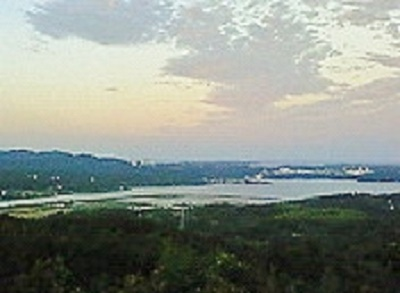 2009/09/09 18:05 展望台から英虞湾を望む。