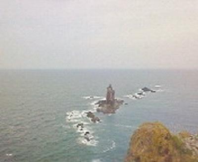 2010/08/25 10:32 チャレンカが化身したとされる神威岩。