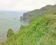 2010/08/25 10:15 神威岬のチャレンカの小道より望む③