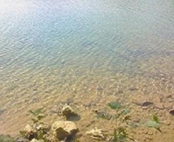 2010/09/14 09:04 オンネトー湖面