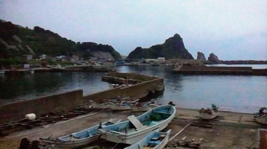 2011/ 6/23 13:01 最果ての漁港。