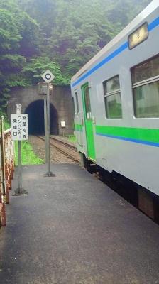 2011/ 6/28 9:23 小幌駅到着!