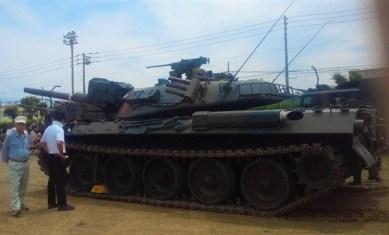 2013/ 6/16 11:56 74式戦車②