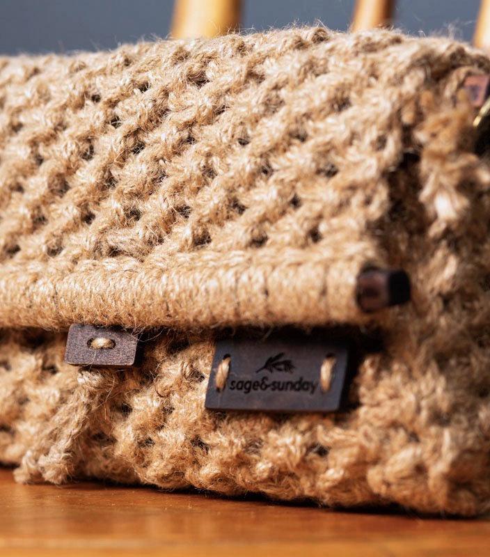 Meliscka Clutch | Hand Woven | Utility Laptop Bag