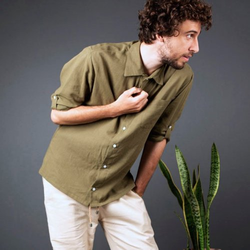 Arambol Shirt | Hemp | Male Apparel
