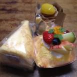 純ちゃん誕生日 ショートケーキ