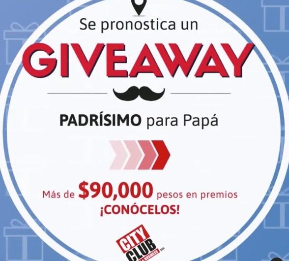 City Club celebrará a papá con giveaway en IG