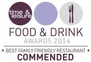 Aya Food Awards Winner Best Family Friendly Restaurant 2014