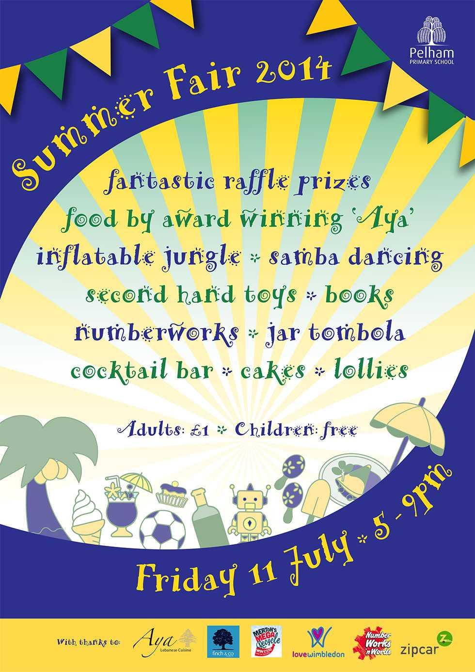 Pelham Primary School summer-fair-2014