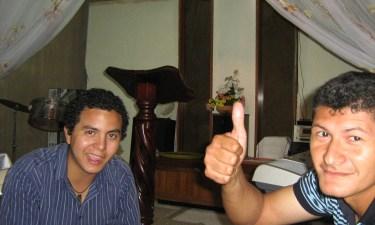Hermanos visitando desde Barquisimeto - Pésaj 2009