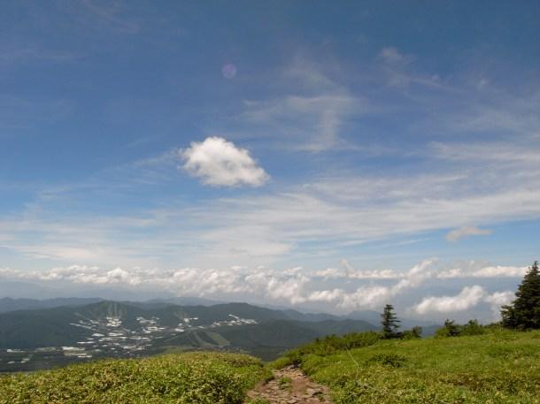 山頂にたって初めてわかったことの多い事。