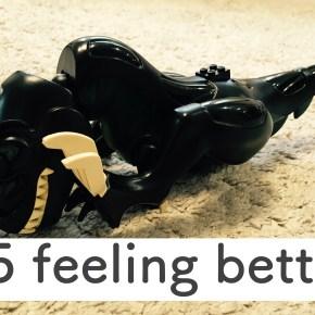 #5 feeling better