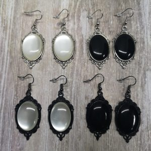 Ayame Designs handcrafted elegant gothic earrings