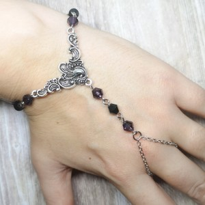 Ayame Designs handcrafted hand bracelet