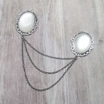 Ayame Designs handcrafted collar pin
