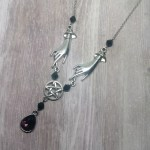Ayame Designs handcrafted pentacle necklace
