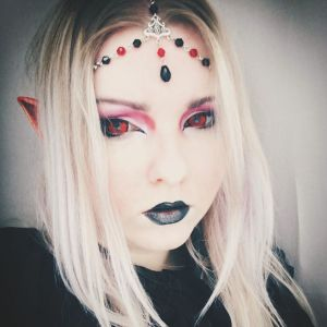 Ayame Designs handcrafted fantasy circlet / head chain
