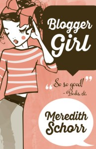 Review: Blogger Girl by Meredith Schorr