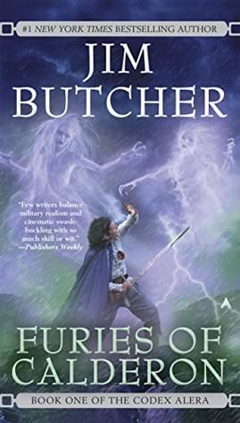 Review: Furies of Calderon by Jim Butcher (Codex Alera #1)