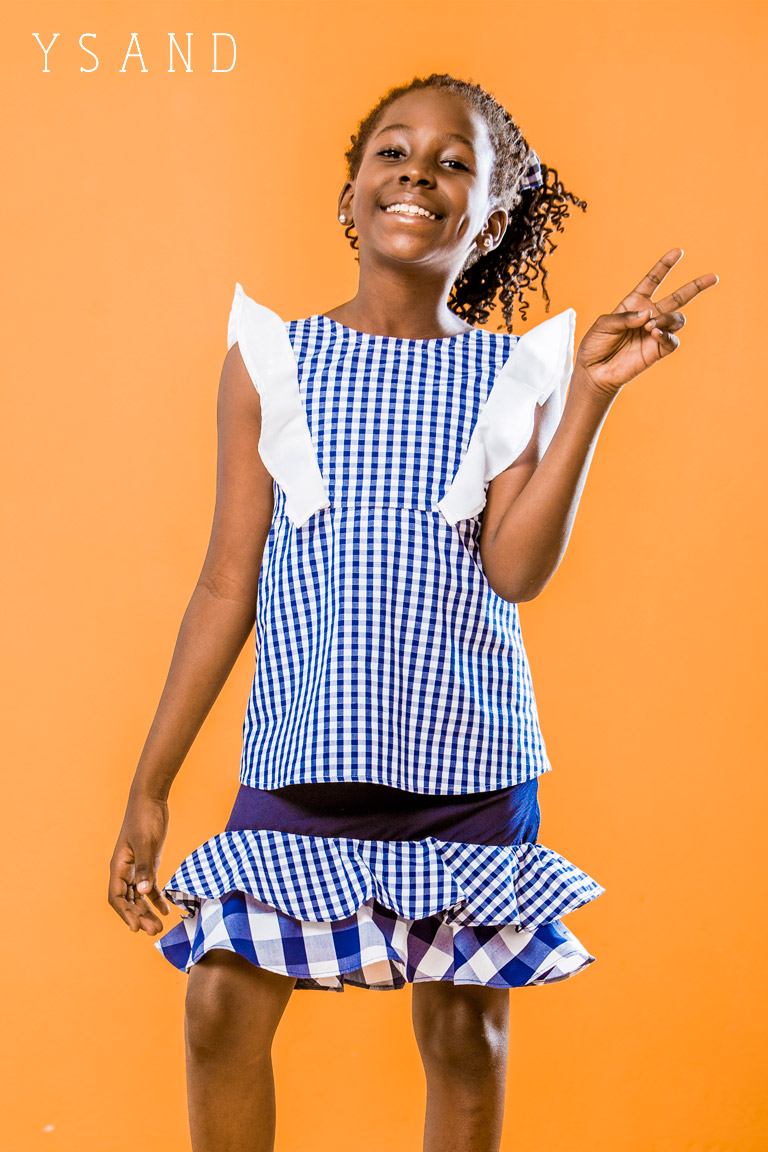 Ysand:5 tenues d'école pour votre fille