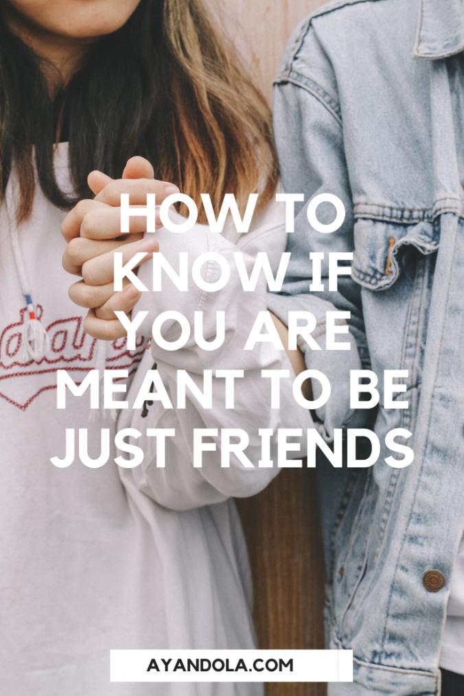 romantic or friendship