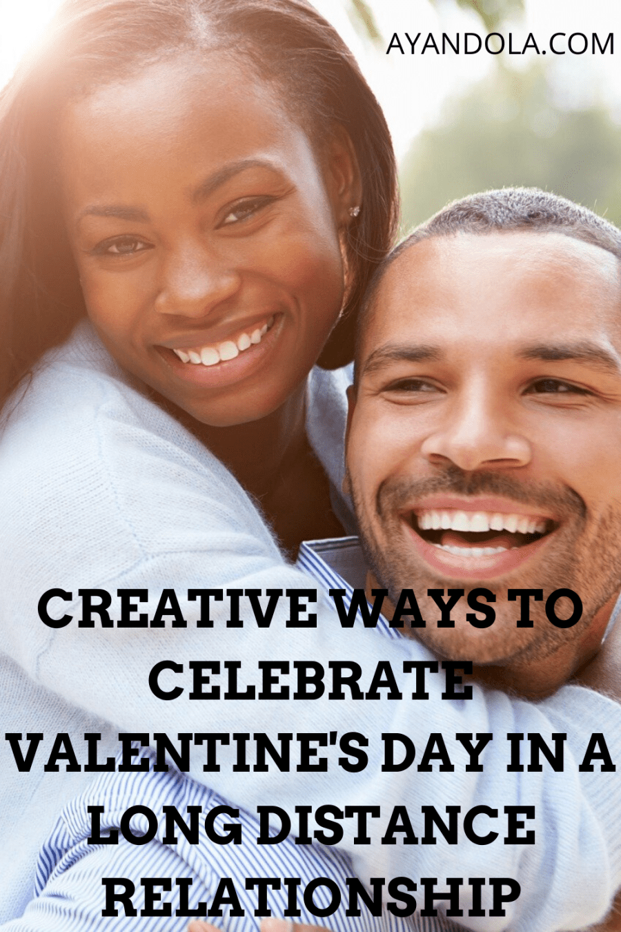 celebrate Valentine's Day in a long-distance relationship