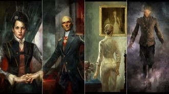 Several of the hidden paintings featured in the Dishonored