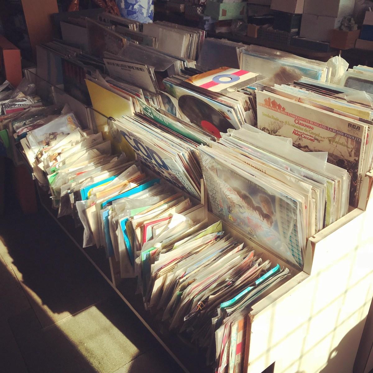 大多喜のレコード屋さん?つれづれ。