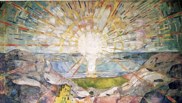Edvard Munch Sun Painting