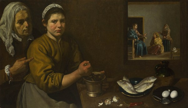 Diego Velazquez Christ in the House of Mary and Martha