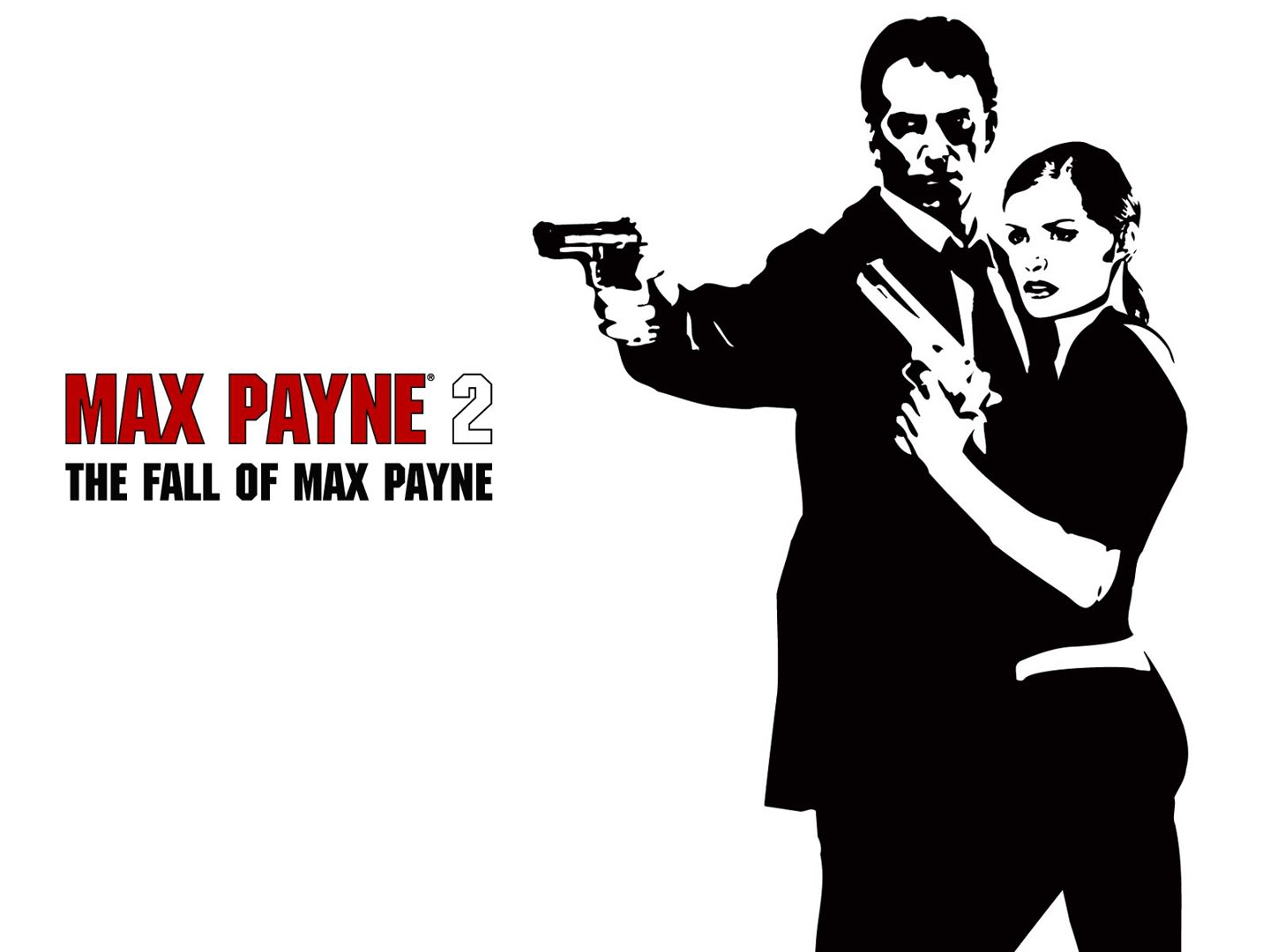 Fall Max Payne Hd Wallpapers Silhouette On White Background Max Payne 2 Wallpaper