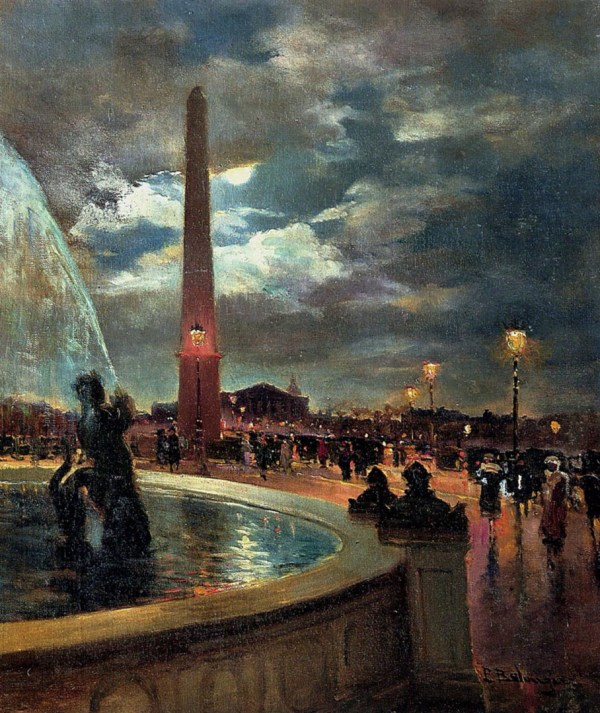 La Place De Concorde Paris - French Art