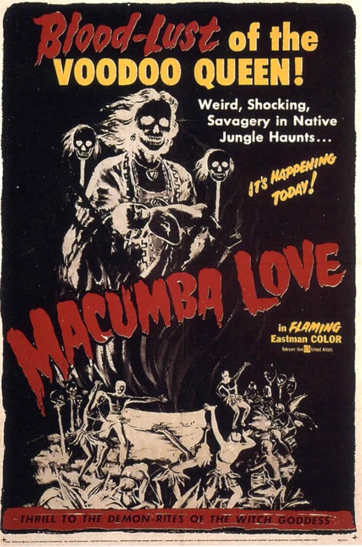 Macumba Love  Cannibal B Movie Posters