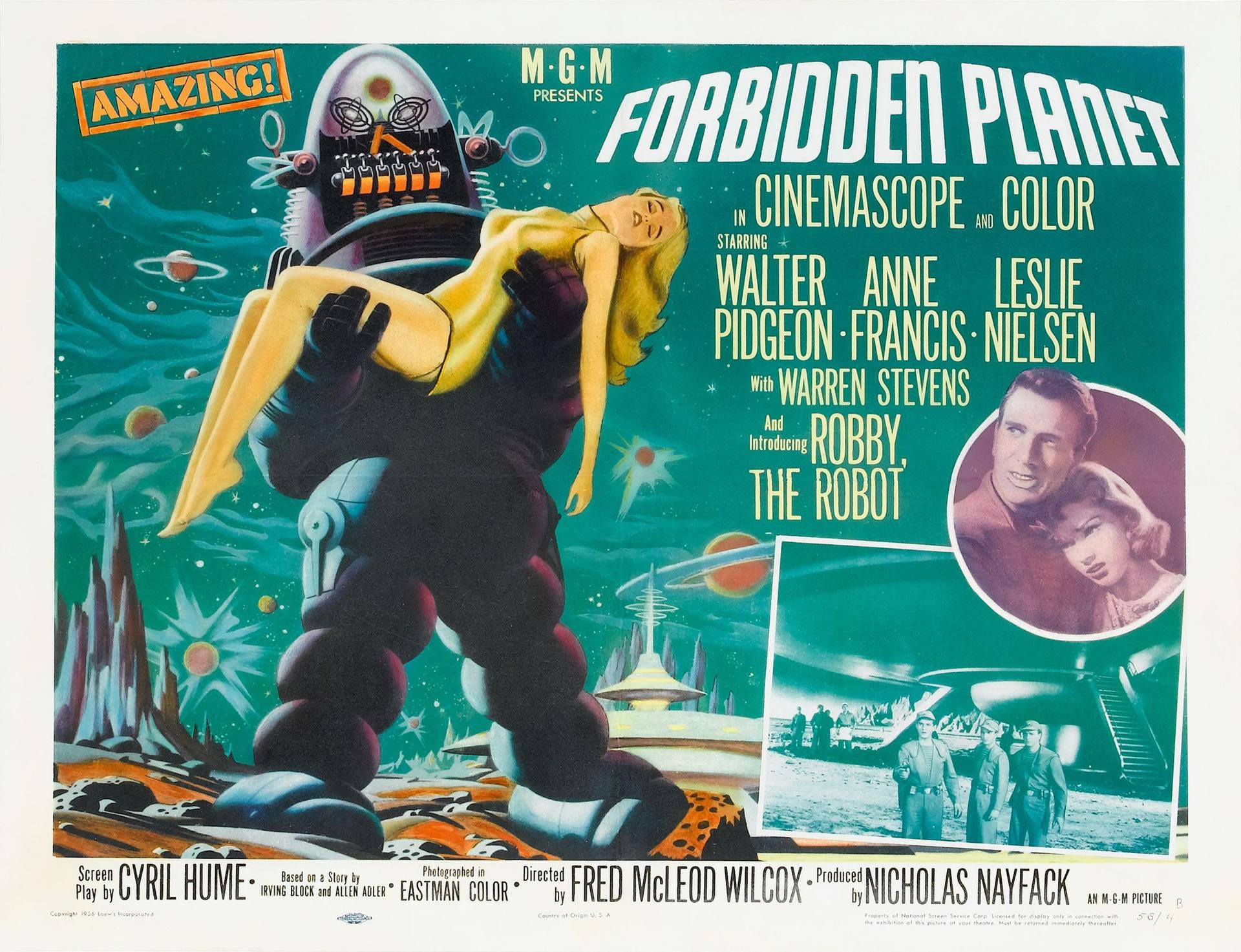 Forbidden Planet Ii  Sci Fi B Movie Posters