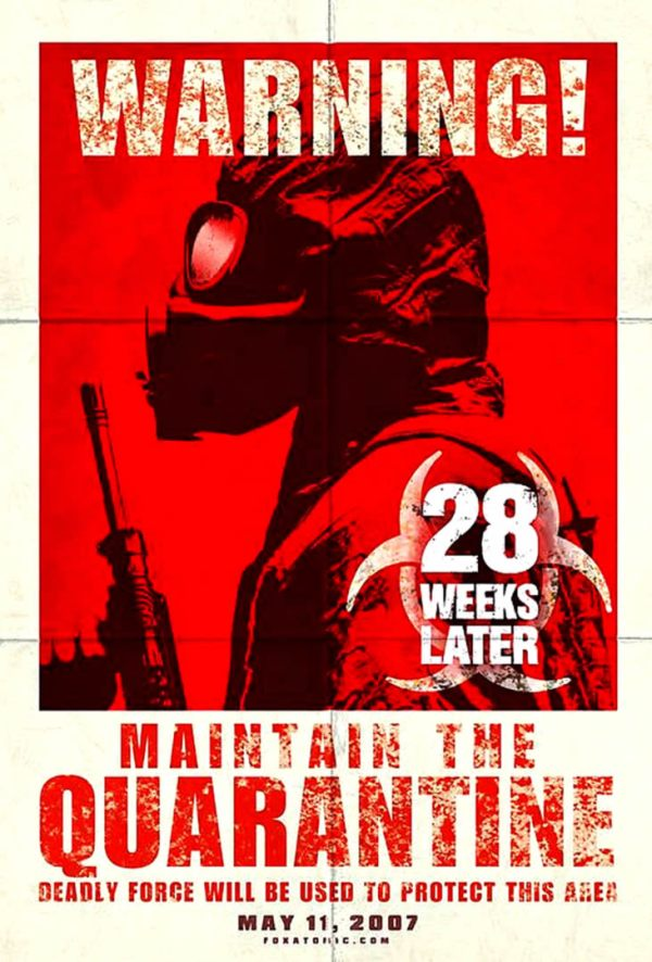 28 WEEKS LATER Zombie B Movie Posters