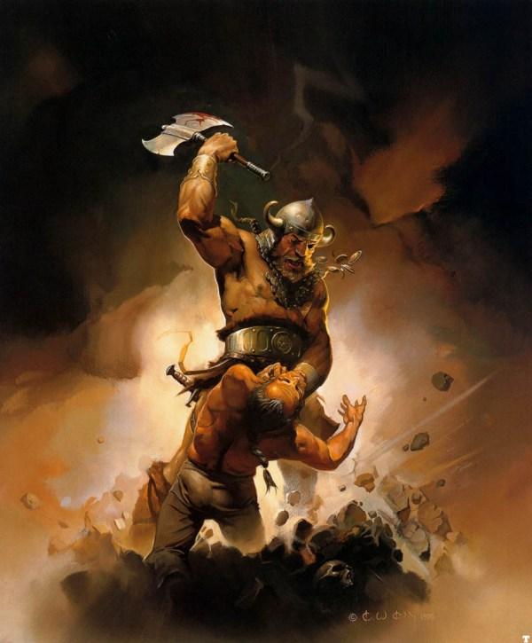 Revenge Of Viking - Ken Kelly Wallpaper
