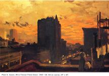 John French Sloan Paintings