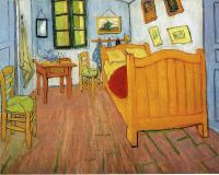 Vincents Bedroom In Arles - Vincent Van Gogh Wallpaper Image