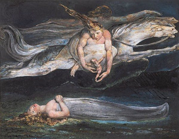 Pity 1795 Tate - William Blake Wallpaper
