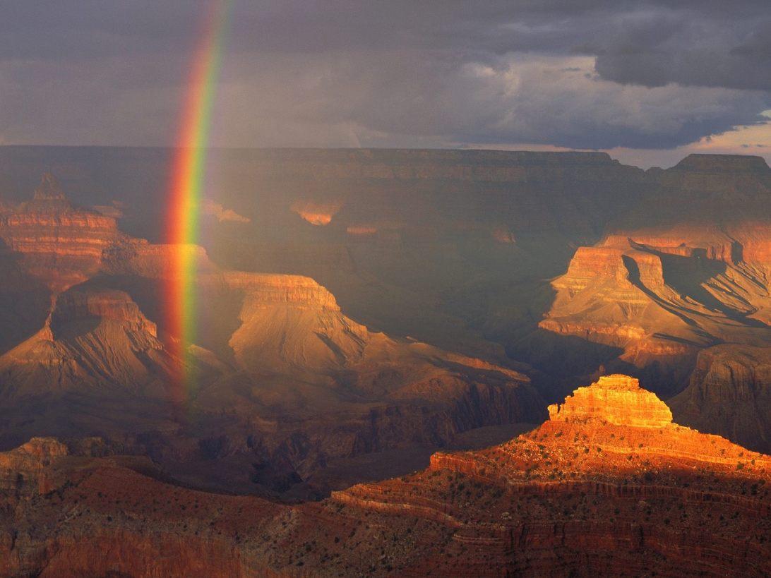 South Rim Sunset Grand Canyon National Park Arizona &