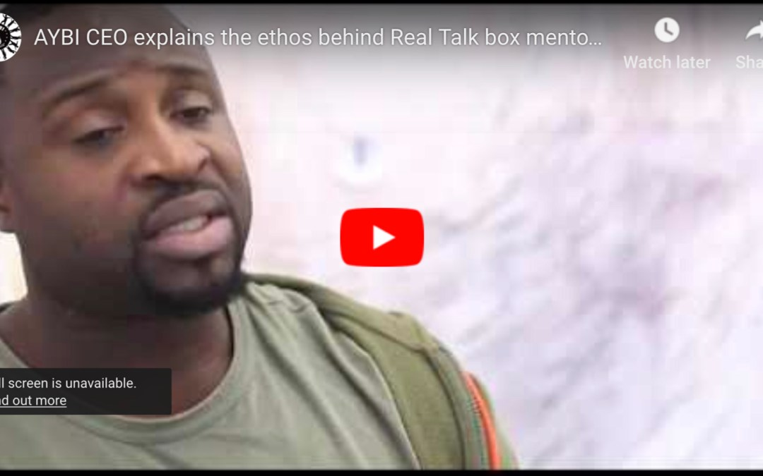 AYBI CEO explain the ethos behind real talk box mentoring program