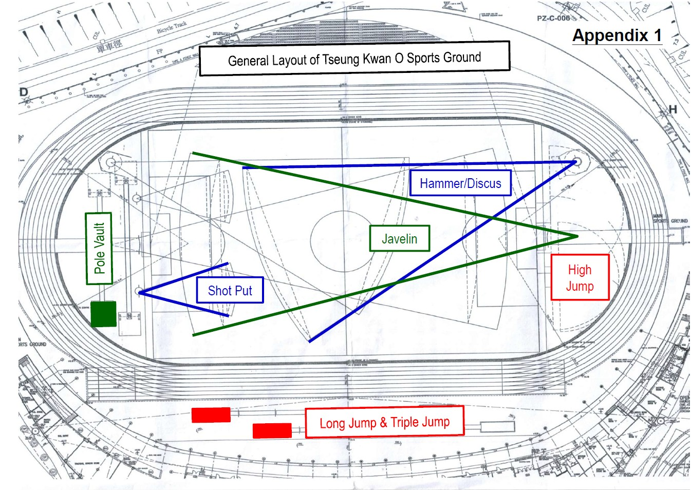 hight resolution of competition venue