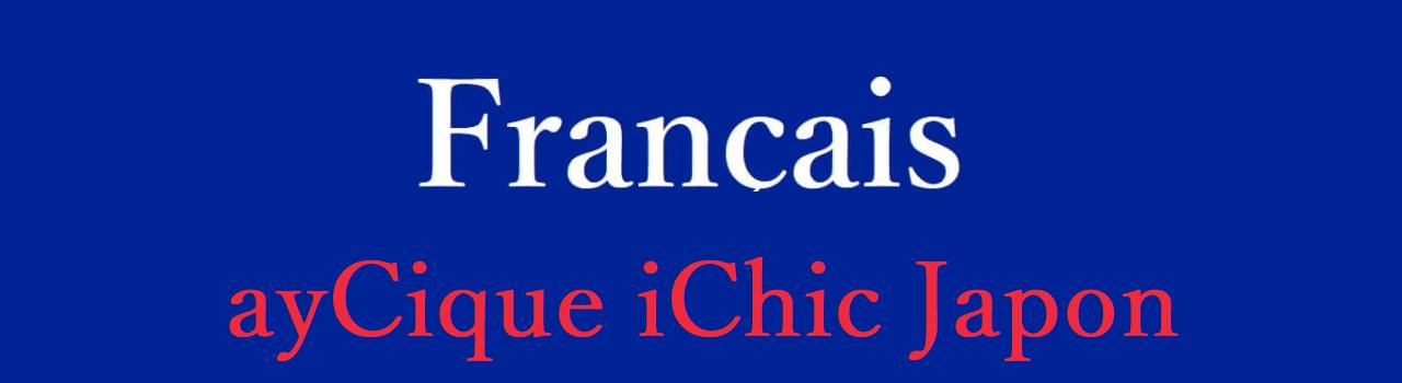 フランス語 カテゴリ
