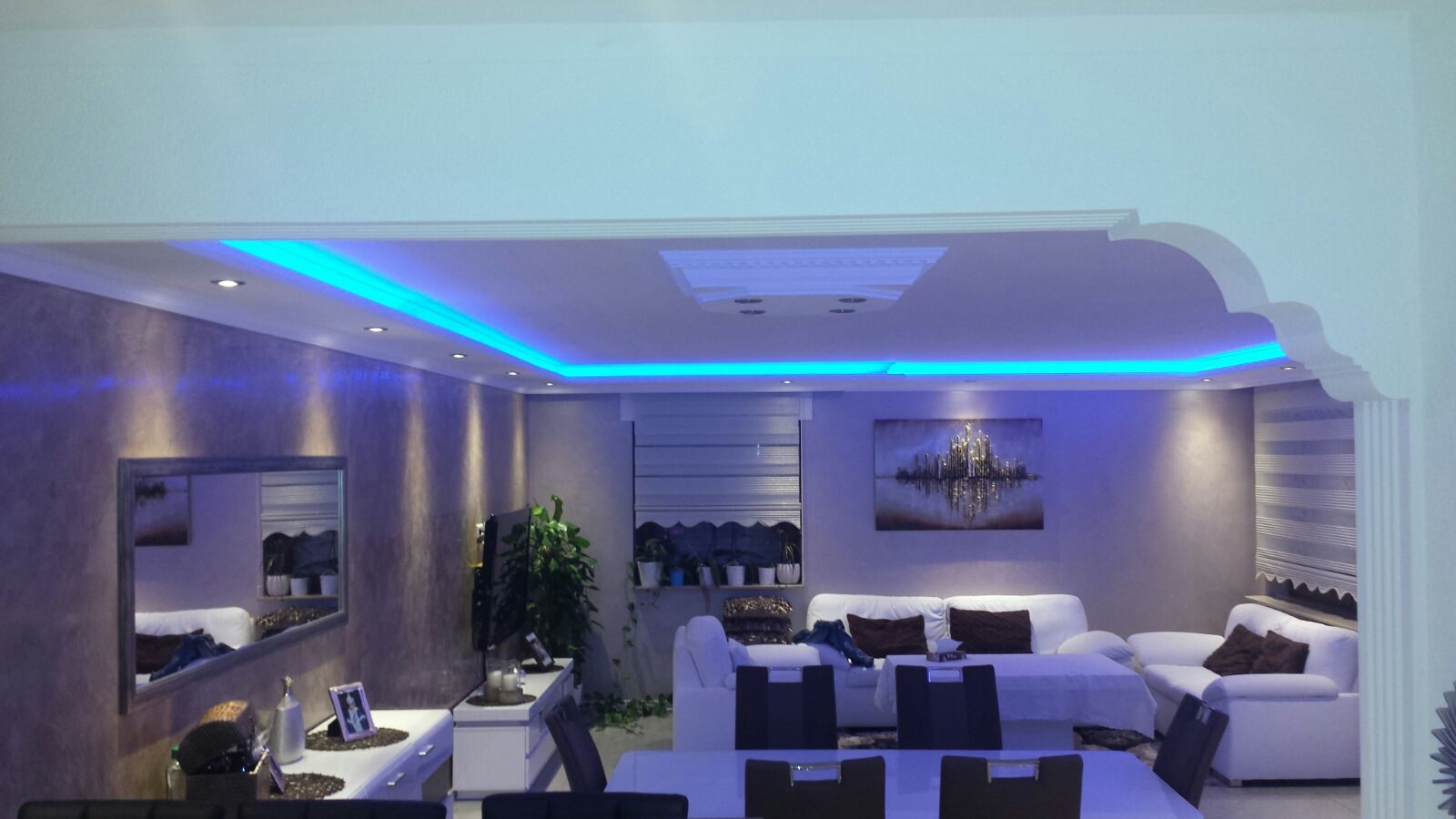 indirekte beleuchtung led lichtprofile wand decken beleuchtung 1 meter bl 10 aydin stuck. Black Bedroom Furniture Sets. Home Design Ideas