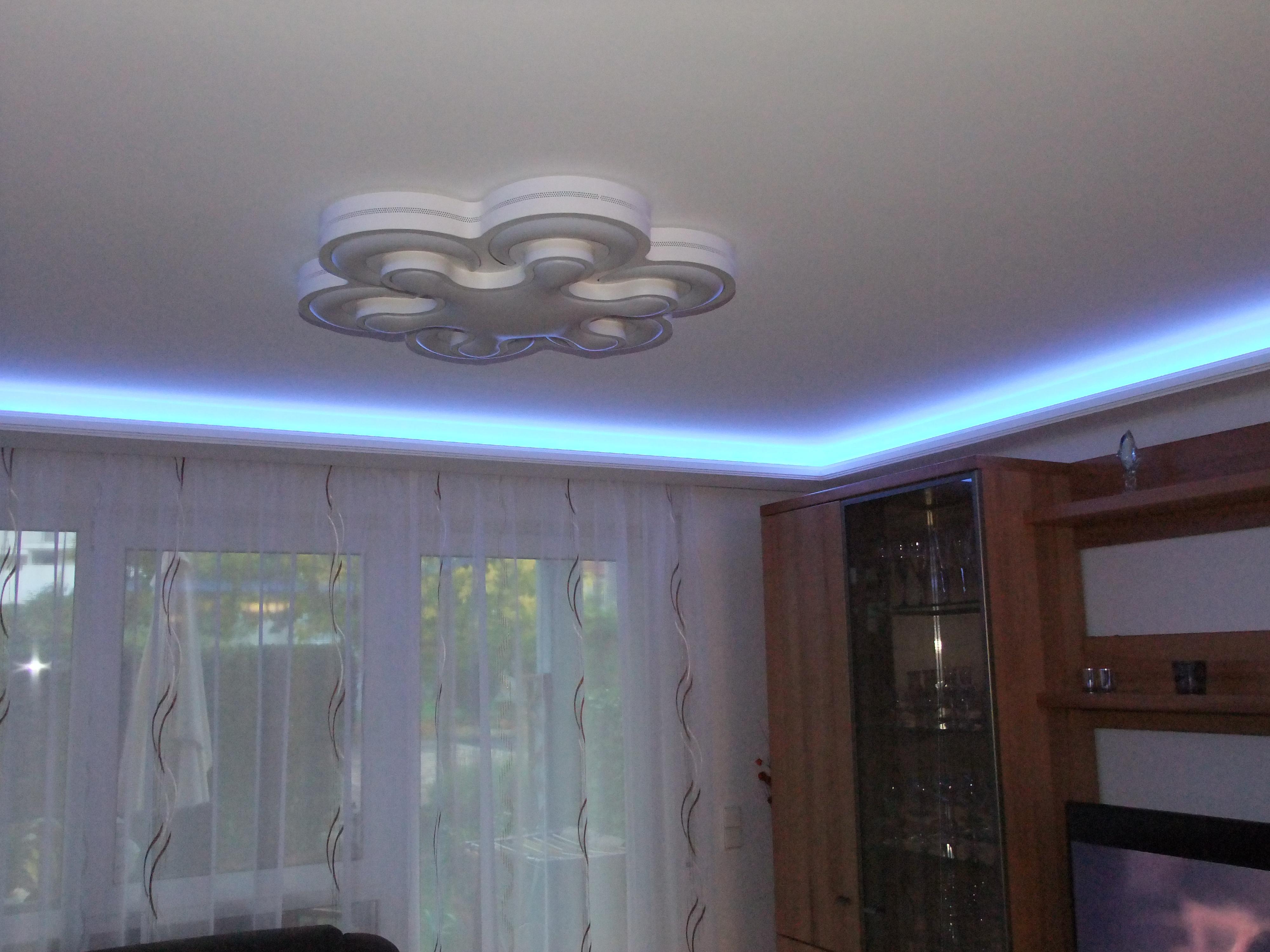 1 m led indirekte beleuchtung lichtprofile stuckleisten. Black Bedroom Furniture Sets. Home Design Ideas