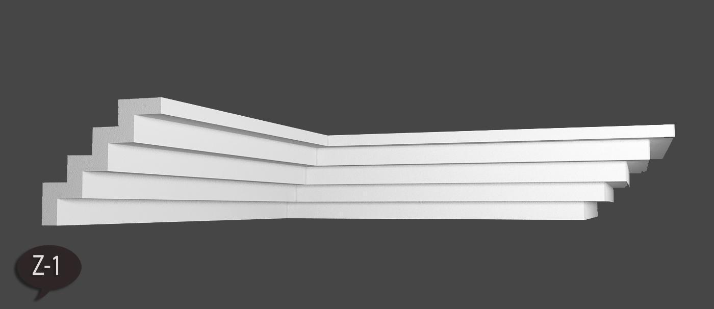 50 m Styroporleisten Stuckleisten Zierleisten Zierprofile Stuck K26