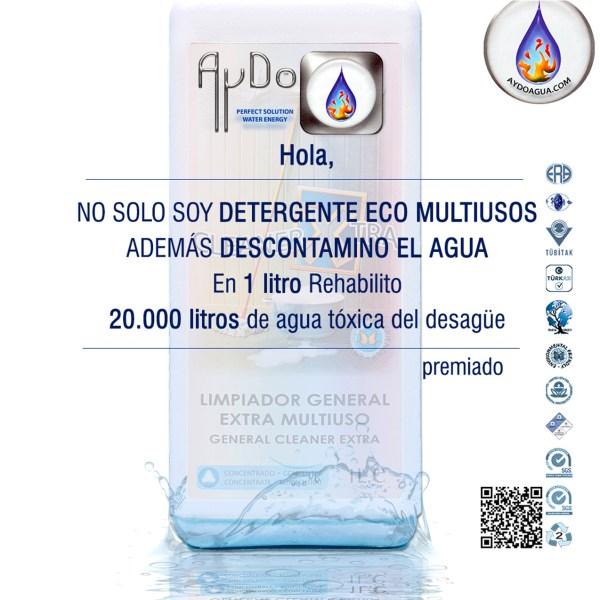 Detergente multiusos eco