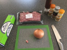 Ingredients for Samsa