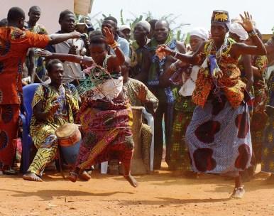 Voodoo celebrations Benin