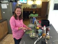 Preparing the Mezze
